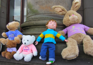 Teddies at City Chambers April 2012