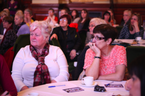Kinship Carers watch the speeches